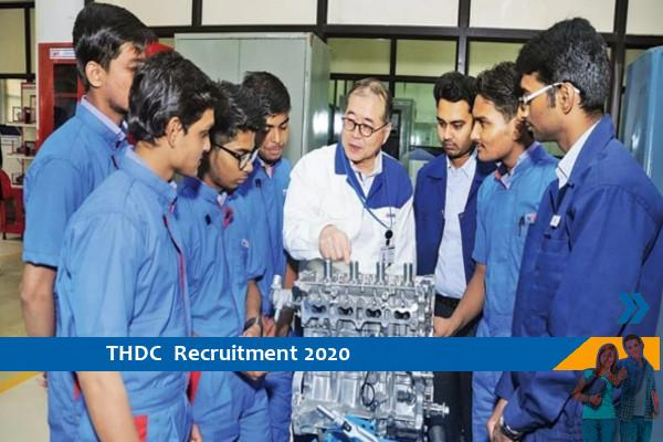 Recruitment to the post of Trainee in THDC, 10th pass apply