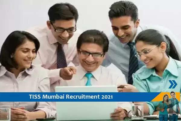 TISS Mumbai Recruitment for the post of Assistant Professor
