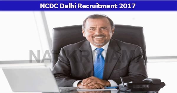 NCDC Recruitment 2021 for the Posts of  Dy. Direcror, Assistant Director, Junior Assistant & Other