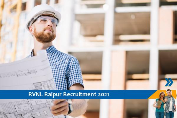RVNL Raipur Recruitment for the post of Additional General Manager