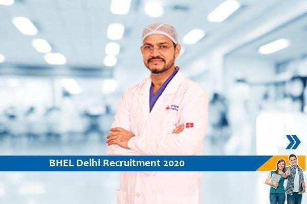 Recruitment to the post of Senior Consultant in BHEL Delhi