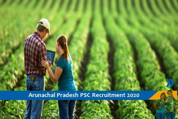 Recruitment to the post of Agriculture Development Officer in APPSC
