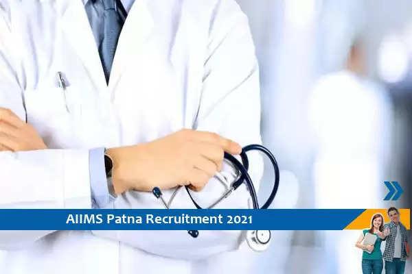 AIIMS Patna Recruitment for Senior Resident Posts