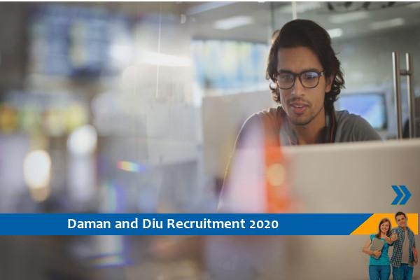 Recruitment to the position of State and District Program Manager in Daman and Diu