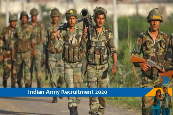 Indian Army Ghoom Soldier Recruitment 2020