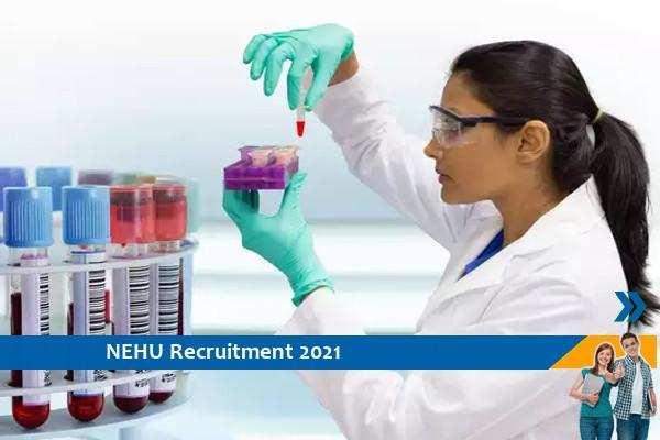 Recruitment of Lab Assistant in NEHU