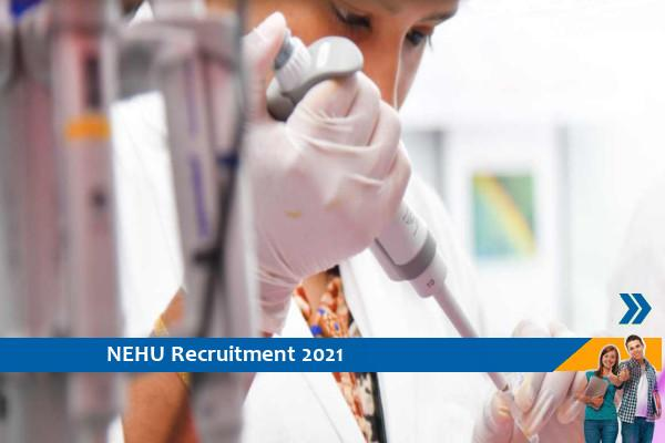 Recruitment for the post of Research Associate in NEHU