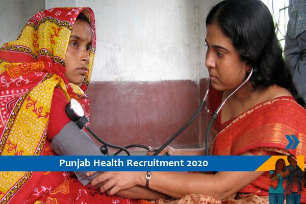 Recruitment for 600 female health workers in Punjab