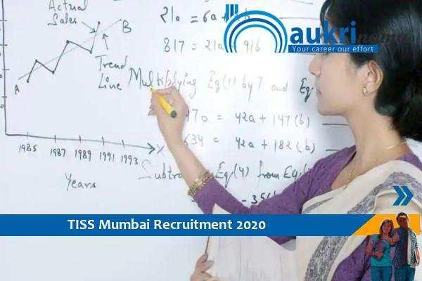 Recruitment for the post of Assistant Professor in TISS Mumbai