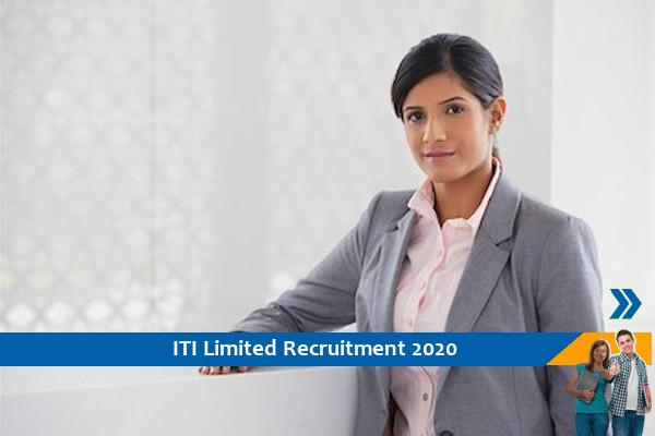 ITI Limited Bangalore Recruitment for the post of Consultant