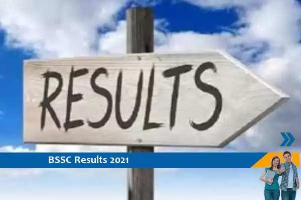 BSSC Results 2021- Assistant Urdu Translator Exam 2021 Result Released, Click Here for Result